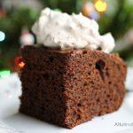Holiday Gingerbread Cake with Splenda #SweetSwaps