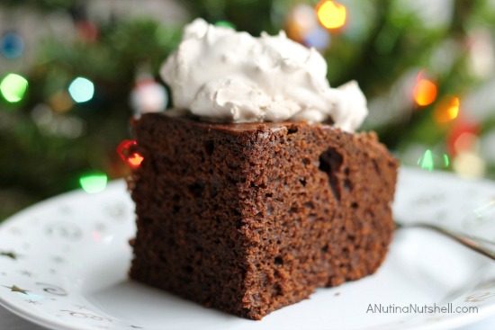 Holiday Gingerbread Cake With Splenda