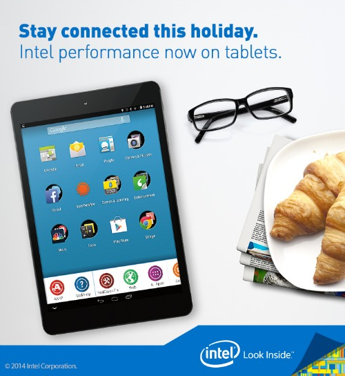 INTEL RealPad - tablet for people over age 50