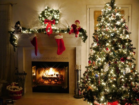 christmas tree - Christmas Trees With Colored Lights Decorating Ideas