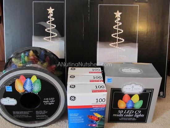 outdoor Christmas decorating ideas - lights