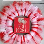 How To Make a Tulle Wreath for Valentine's Day (or Any Occasion)