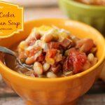 Slow Cooker BBQ Bean Soup