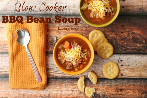 Slow Cooker BBQ Bean Soup recipe