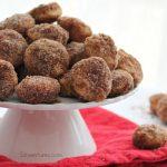 Donut Bites! Apple Cinnamon Mini Donuts