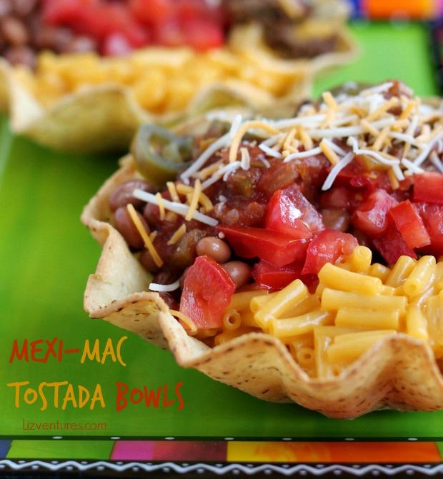 Mexi-Mac Tostada Bowls recipe