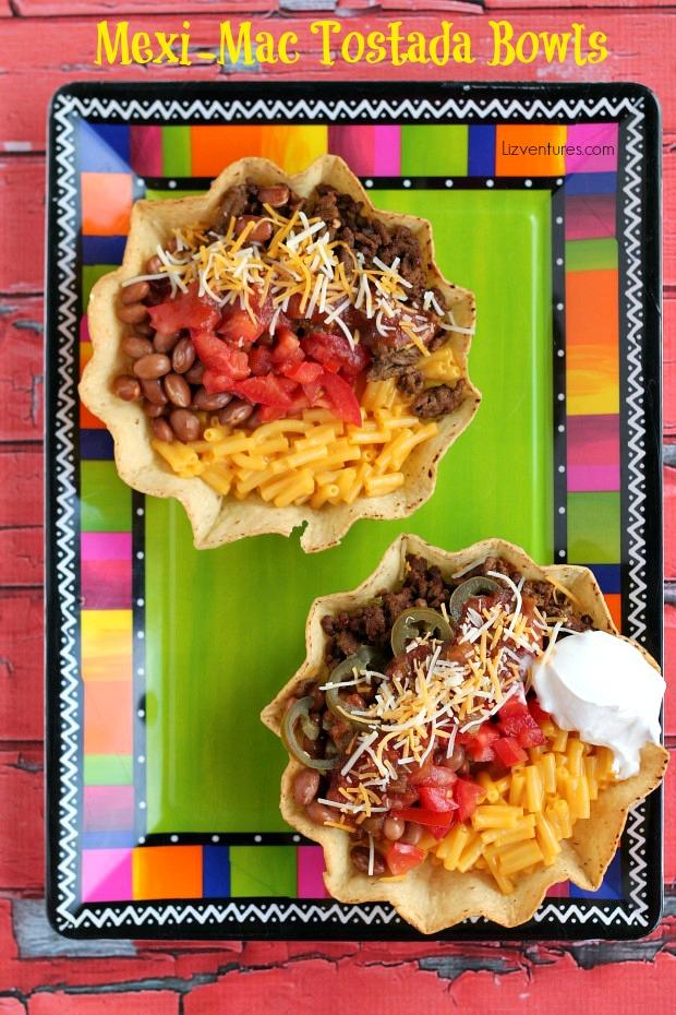 Mexi-Mac Tostada Bowls