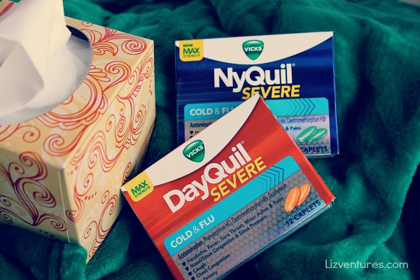 Vicks DayQuil Severe - Vicks NyQuil Severe - tranquil