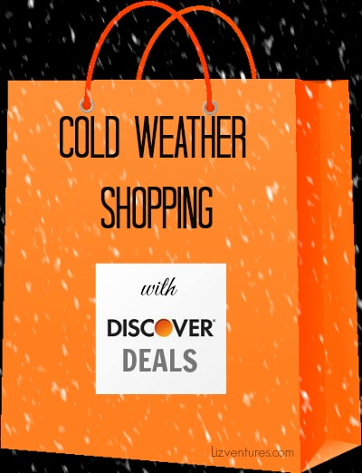 cold weather shopping with Discover Deals