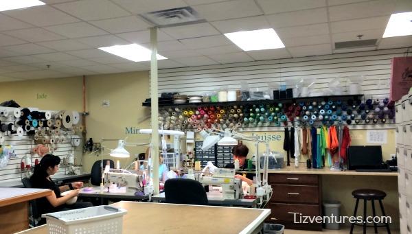 wardrobe department - Zarkana Las Vegas