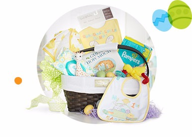 Babys first easter basket ideas safe cute baby fun babies r us babies first easter basket negle Gallery