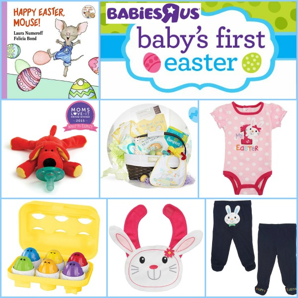 Babys first easter basket ideas safe cute baby fun negle Images