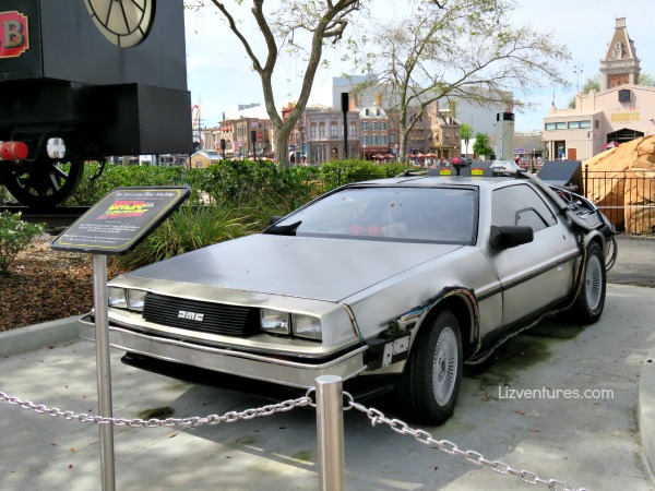 Back to the Future DeLorean Time Machine - Universal Studios Florida