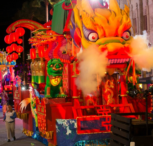 Chinese New Year Float Mardi Gras Universal Studios Orlando