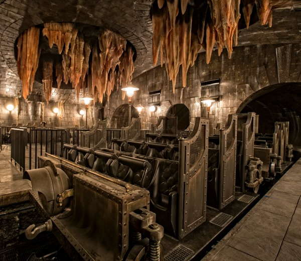 Harry Potter and the Escape from Gringotts ride