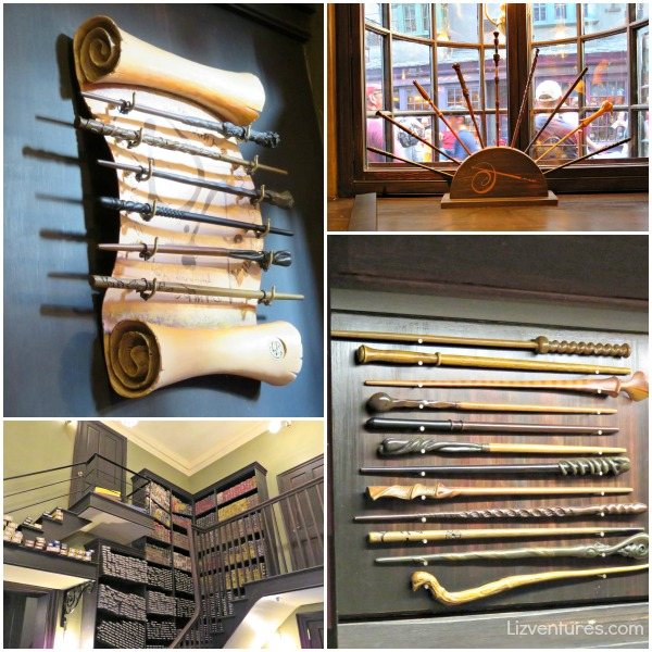 Ollivanders Wand Shop - Diagon Alley
