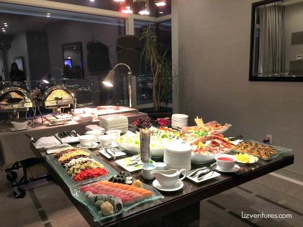 Visa Signature dinner reception Las Vegas ARIA