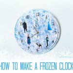 Frozen in Time – How To Make a FROZEN Clock #FrozenFever #FandangoFamily