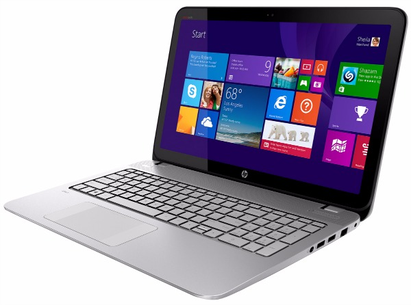 AMD FX APU – HP Envy Touchsmart Laptop - side view