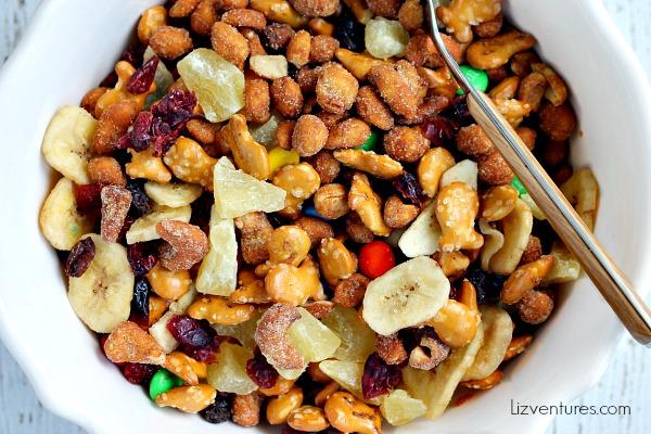 ways to serve nuts - trail mix