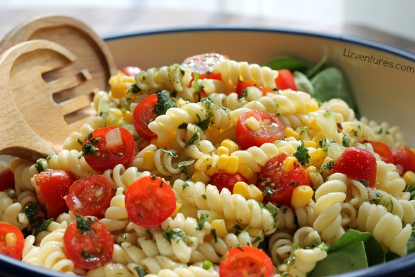 Garden Pasta Salad Recipes — Dishmaps