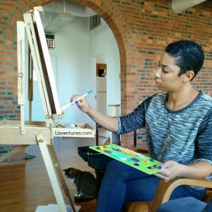 Me painting