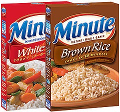 Minute White Rice - Minute Brown Rice