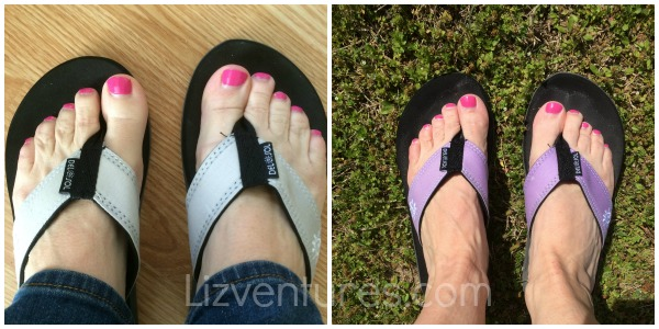 Del Sol color changing sandals