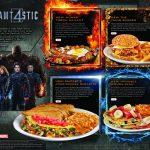 "Denny's Fantastic Four Sweepstakes and ""Slamtastic 4"" Superhero Menu #DennysDiners"