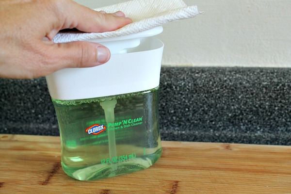 how to use Clorox Pump 'N Clean