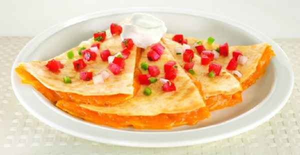 Denny's $2 cheese quesadilla (2-4-6-8 value menu)