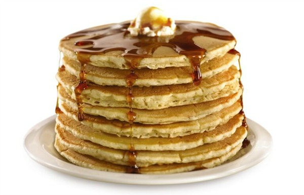 Denny's $4 All You Can Eat Pancakes (2-4-6-8 value menu)