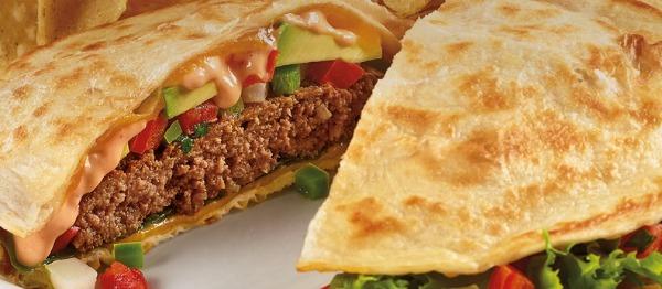 Denny's $6 Baja Quesadilla Burger