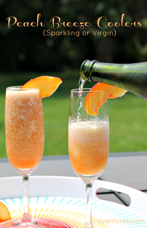 Peach Breeze Coolers recipe