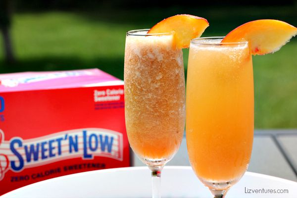 Peach Breeze Coolors summer brunch beverages