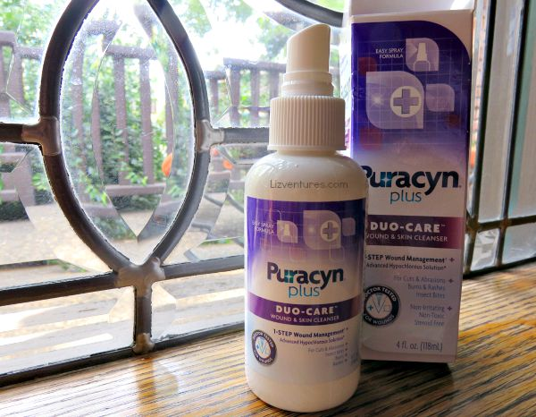 Puracyn plus duo-care wound and skin cleanser