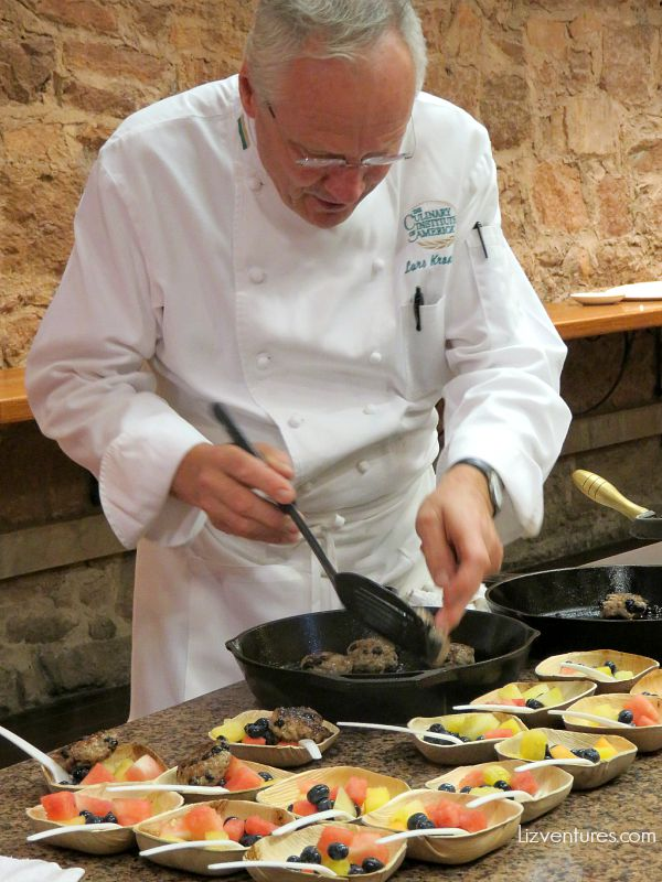Chef Lars Kronmark - Culinary Institute of America