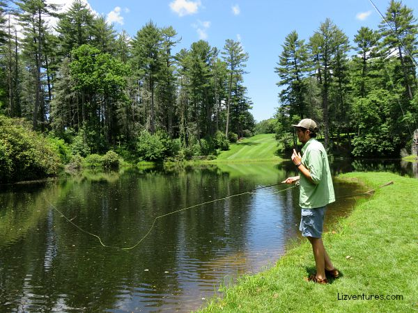 Fly Fishing Demonstration - Play On Adventures - Jackson County NC