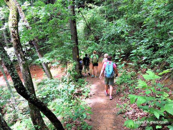 Hiking with Play On Adventures - Western Carolina - Jackson County