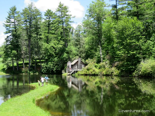 Honeymoon cottage at lake - High Hampton Resort - fly fishing