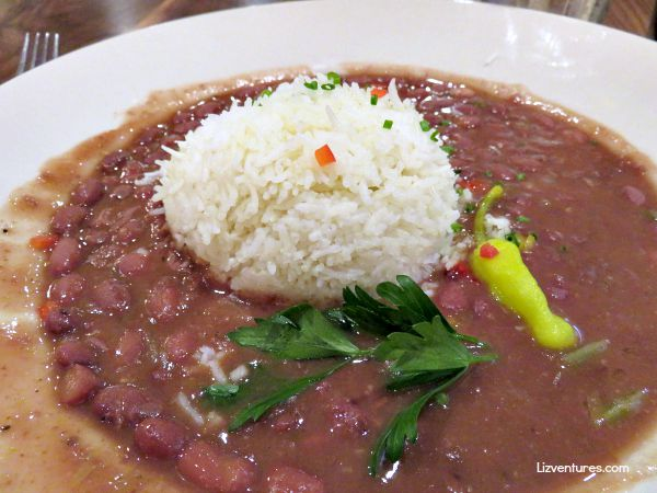 Uptown Cafe Downtown Bloomington Indiana - Red Beans and Rice