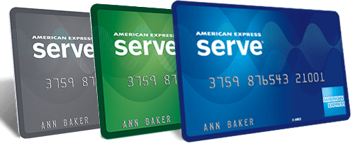 American Express Serve card