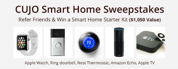 Cujo Smart Home Sweepstakes