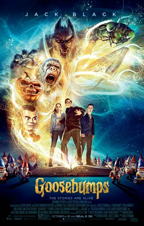 Goosebumps movie poster