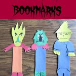 Monster Bookmarks #GoosebumpsMovie