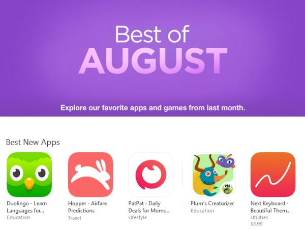 PatPat App - Best of August apps