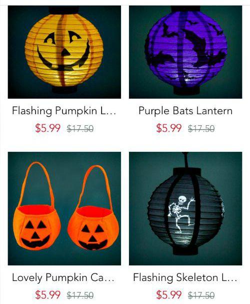 PatPat app - Spooky Halloween Lanterns pic