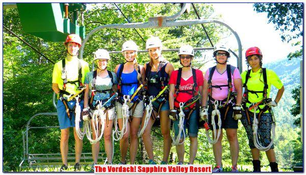 Vordach - Sapphire Valley Resort NC