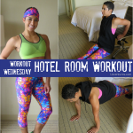 Workout Wednesday: Hotel Room Workout