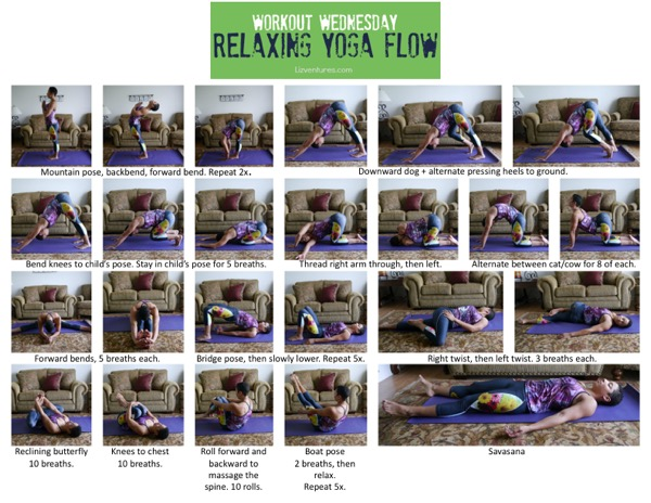 Workout Wednesday 7 - Relaxing Yoga Flow